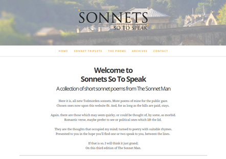 Sonnetssotospeak.co.uk